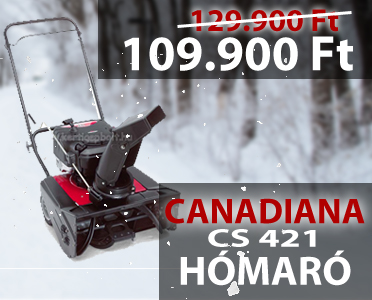 Canadiana CS 421 benzinmotoros h�mar�