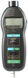 HOLDPEAK 2236B Digitális mechanikai és stroboszkópos optikai fordulatszám mérő